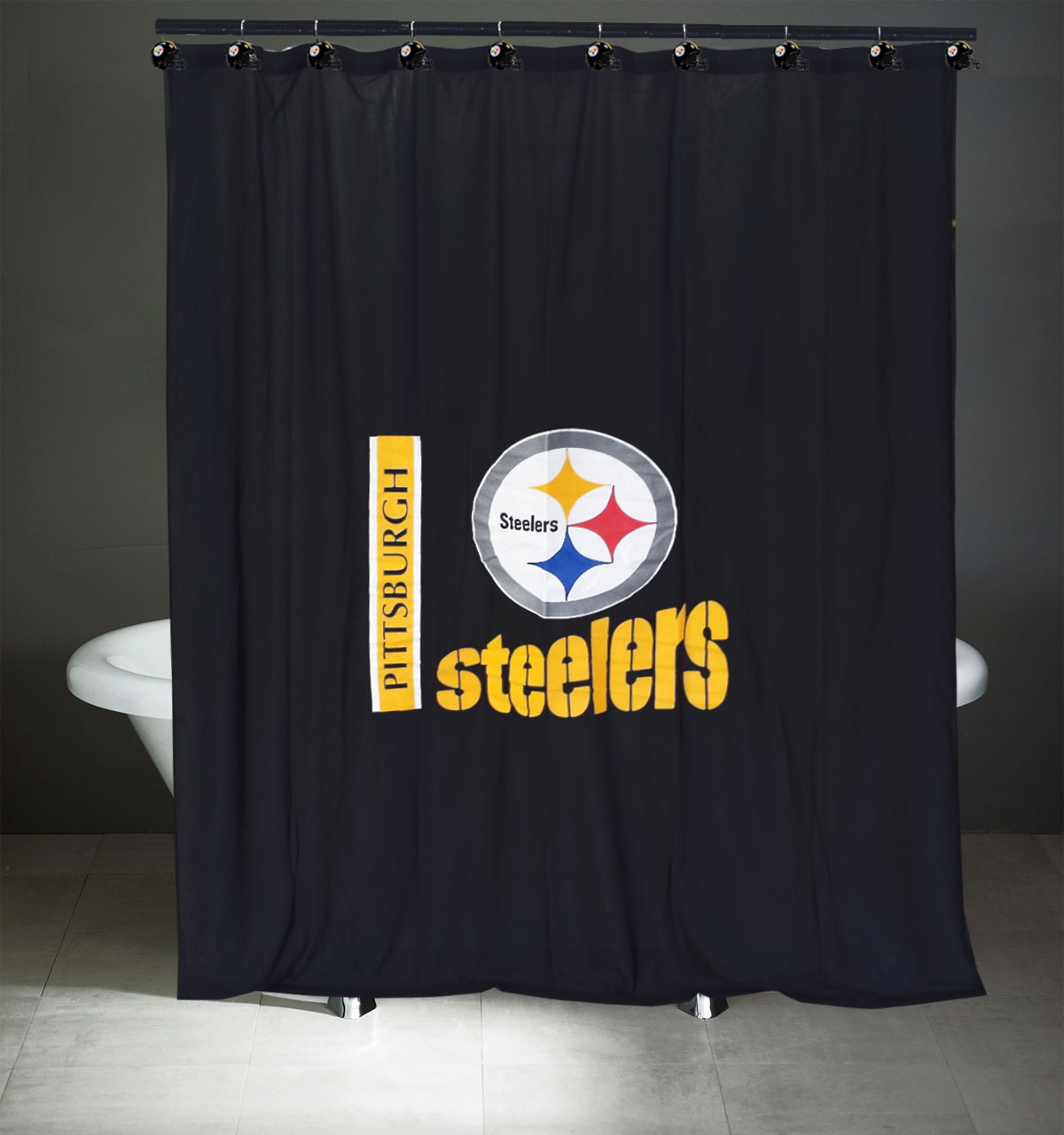How To Purchase Curtains Steel Curtain Shower Curtain