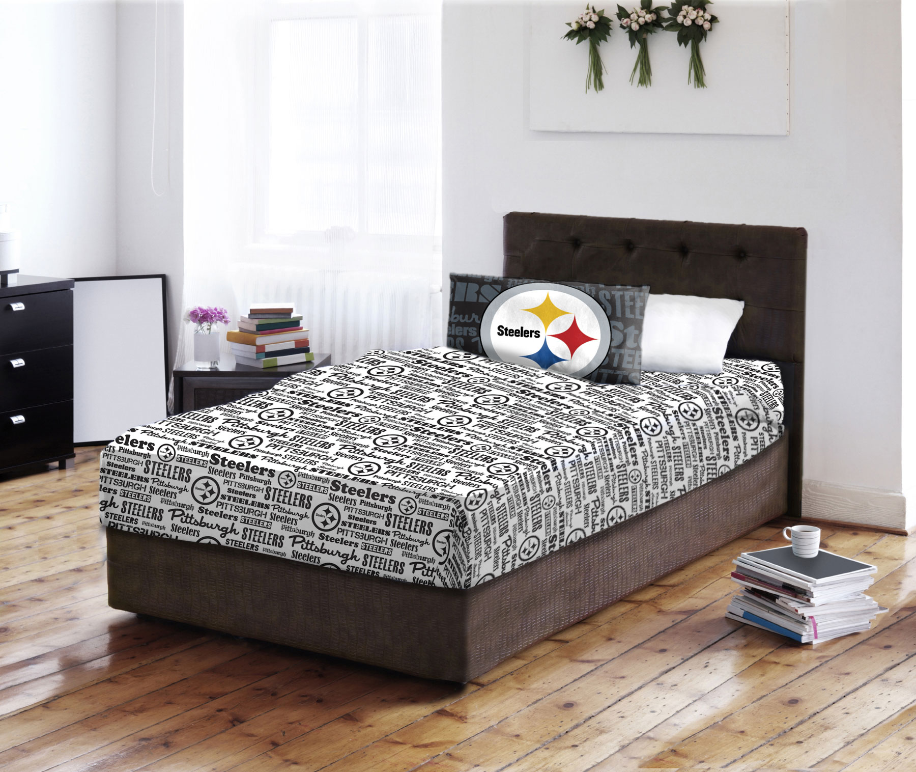 NFL Pittsburgh Steelers Sheet Set - Football Team Anthem ...