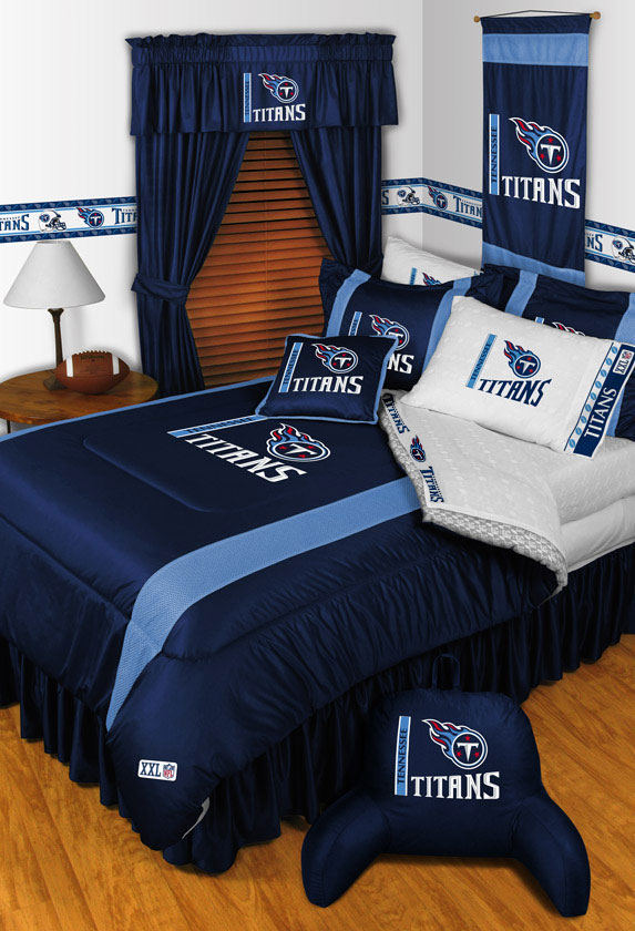 Tennessee Titans Comforter And Pillowcase Nfl Football Bedding
