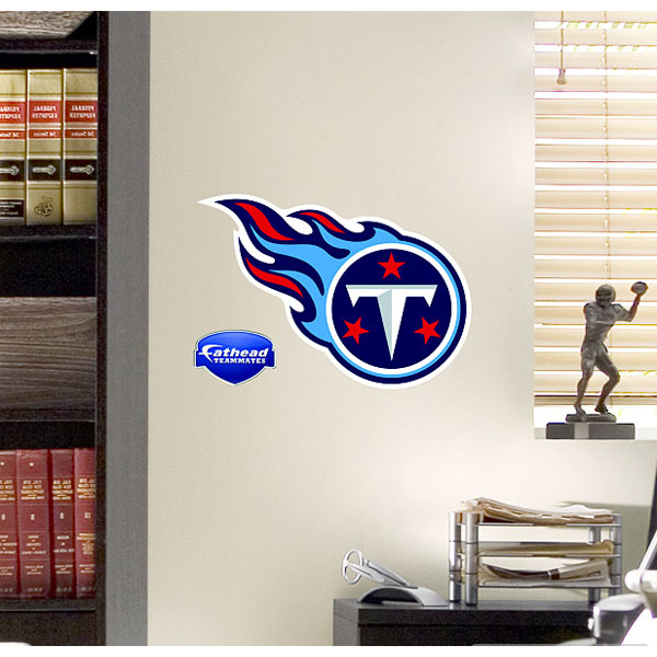 NFL Tennessee Titans Teammate Logo Wall Sticker Decal Fh89-00031 FH89-00031