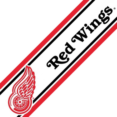 NHL Detroit Red Wings Hockey Prepasted Wallpaper Border at Sears.com