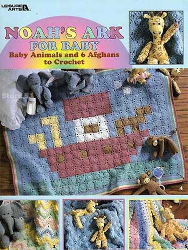 Noahs Ark For Baby Crocheting Craft Idea Designs Book