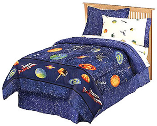 Outer Space Bedding Full Size Galaxy Bed In A Bag