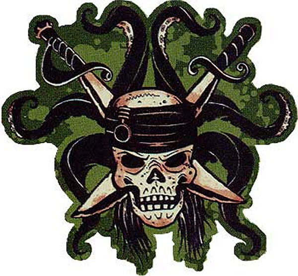 Pirates Of The Carribean - Large Wall Accent Mural Sticker