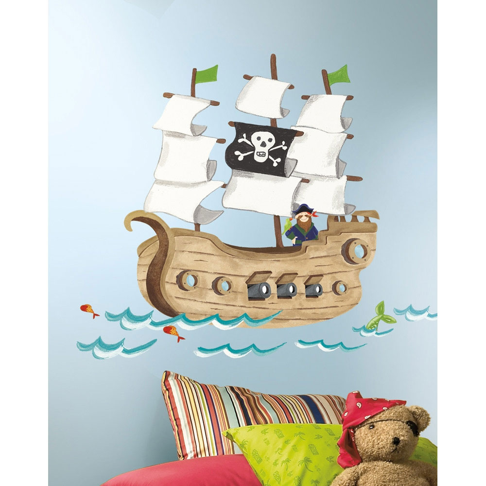 Pirate Ship Wall Accent Set