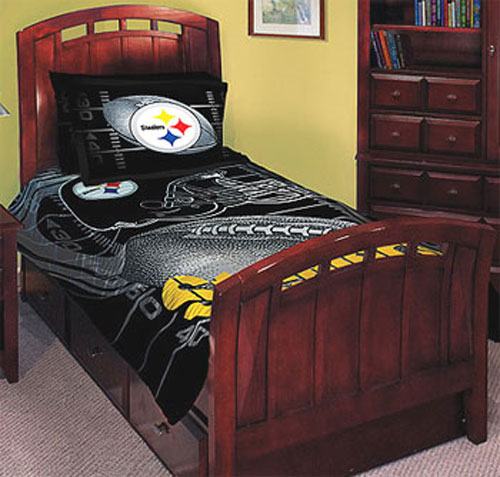 Bedroom Comforter Sets On Steelers Bedding Set Steelers Comforter Set .