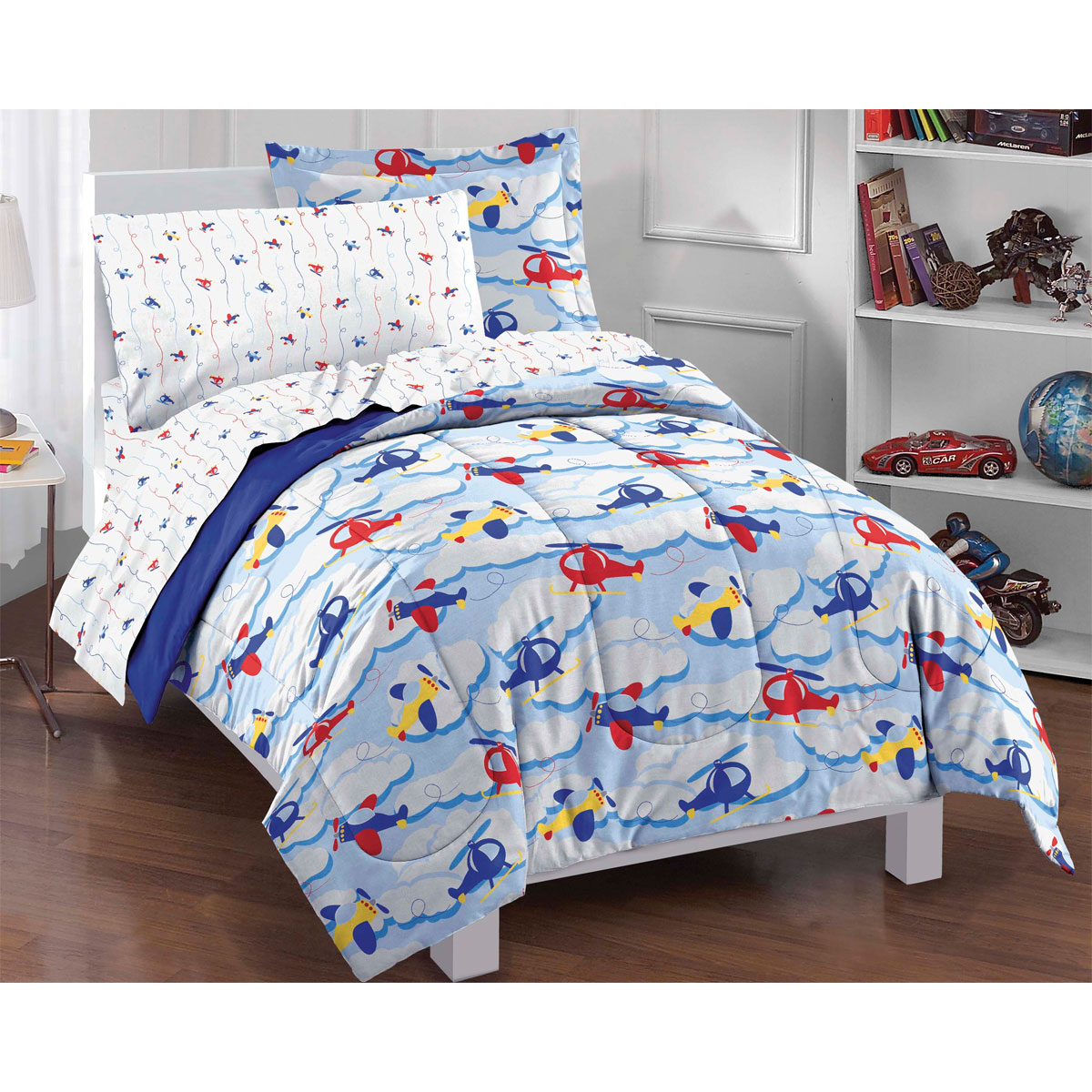 Helicopter Bedding Twin