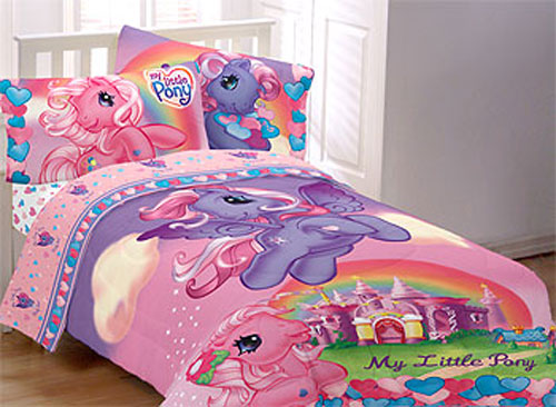 My Little Pony Full Bedding Set - 5pc Bed-in-a-Bag - Full Bed