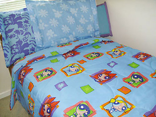 Powerpuff Girls - Comforter Set - Twin or Single Bed Size