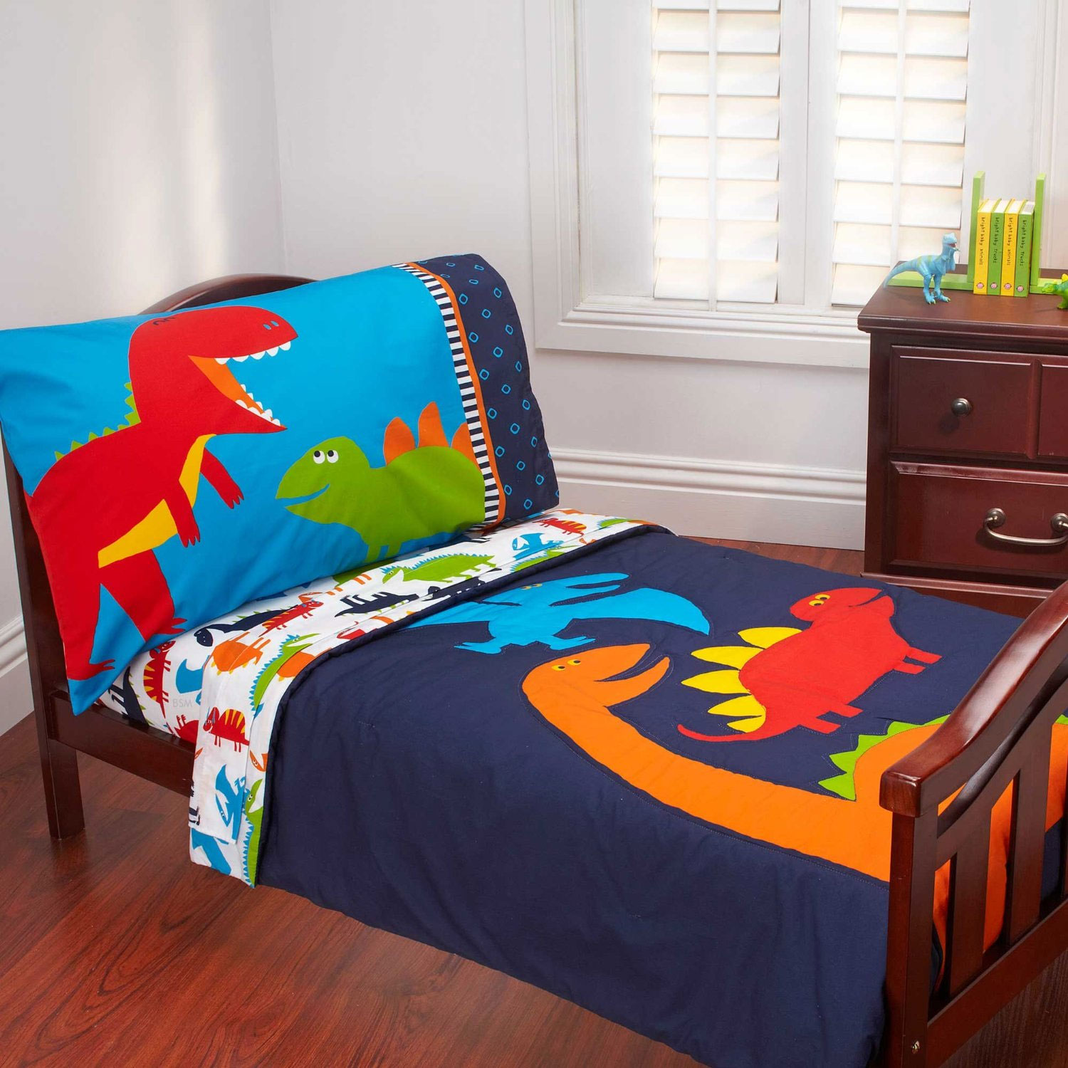 Dinosaurs Toddler Bedding Set