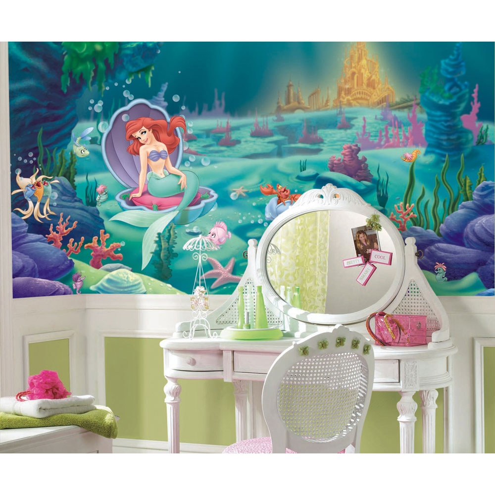 Little Mermaid Wallpaper Mural