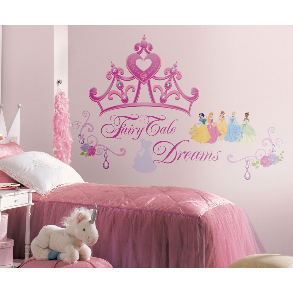 Disney Princess Crown Self-Stick Wall Accent
