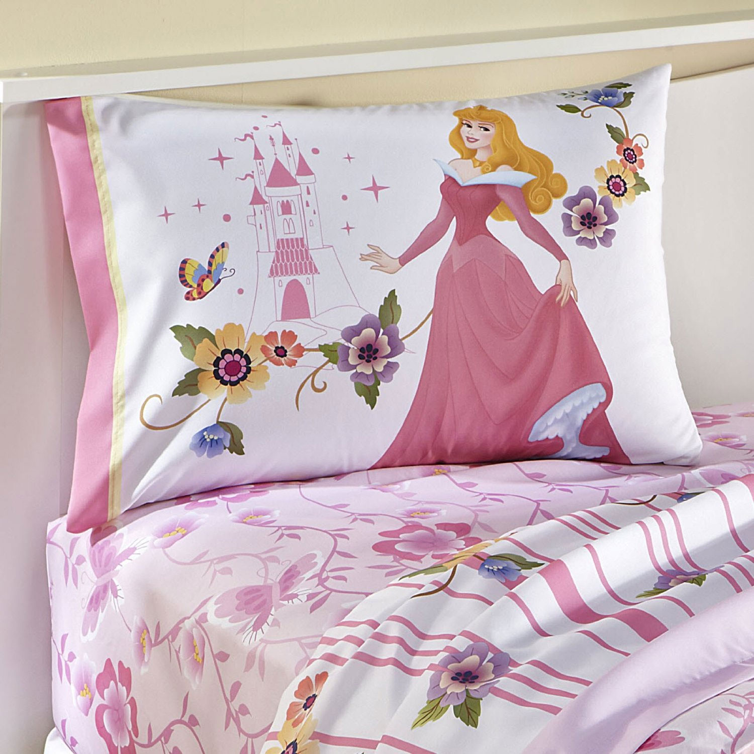 Disney Princess Sleeping Beauty Reversible Pillowcase