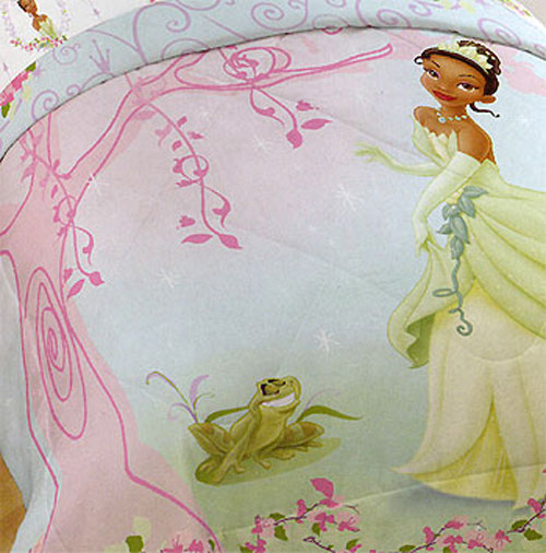 Disney Princess Frog Pink Tiana Full-Double Bed Comforter at Sears.com