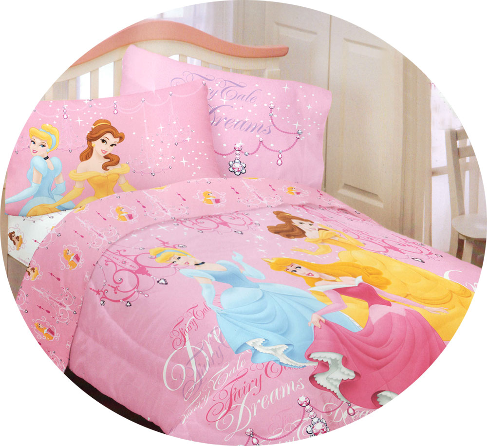 Disney Princess Fairy Tale Bedding Comforter Set