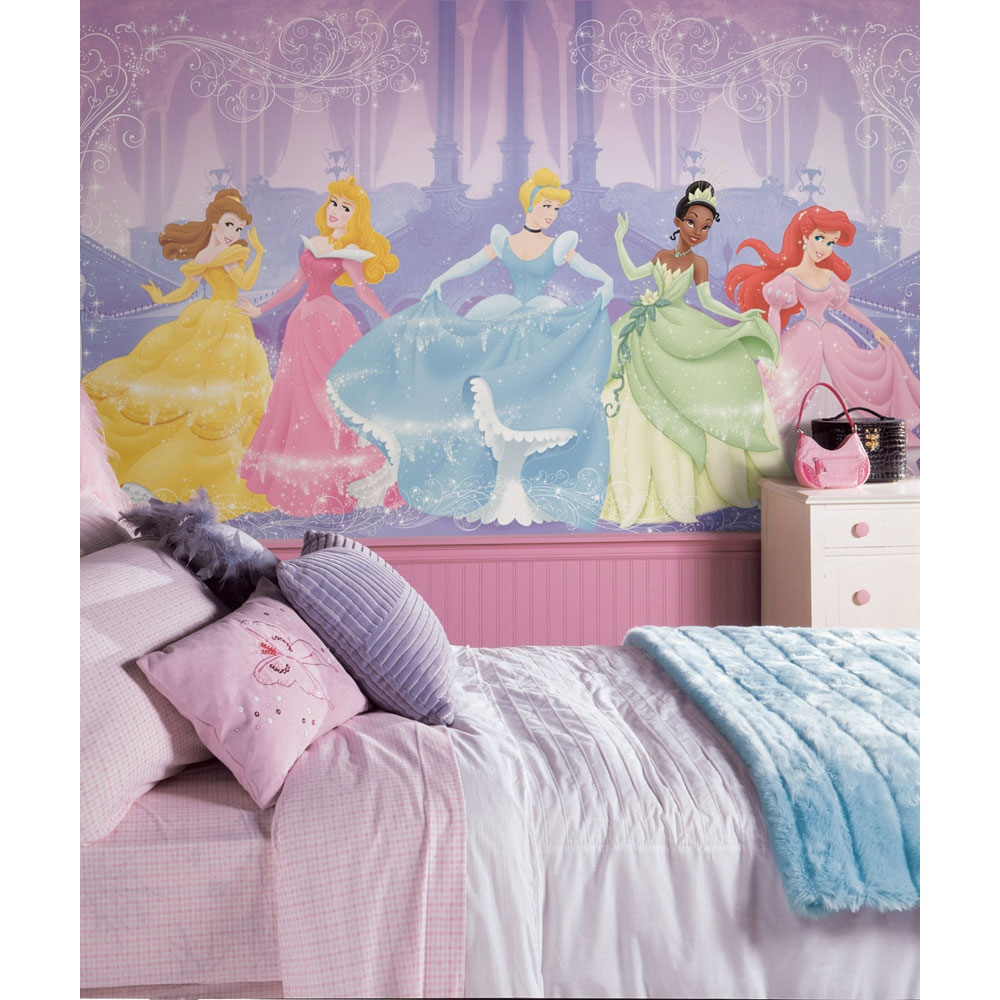 Disney Princesses Wall Mural