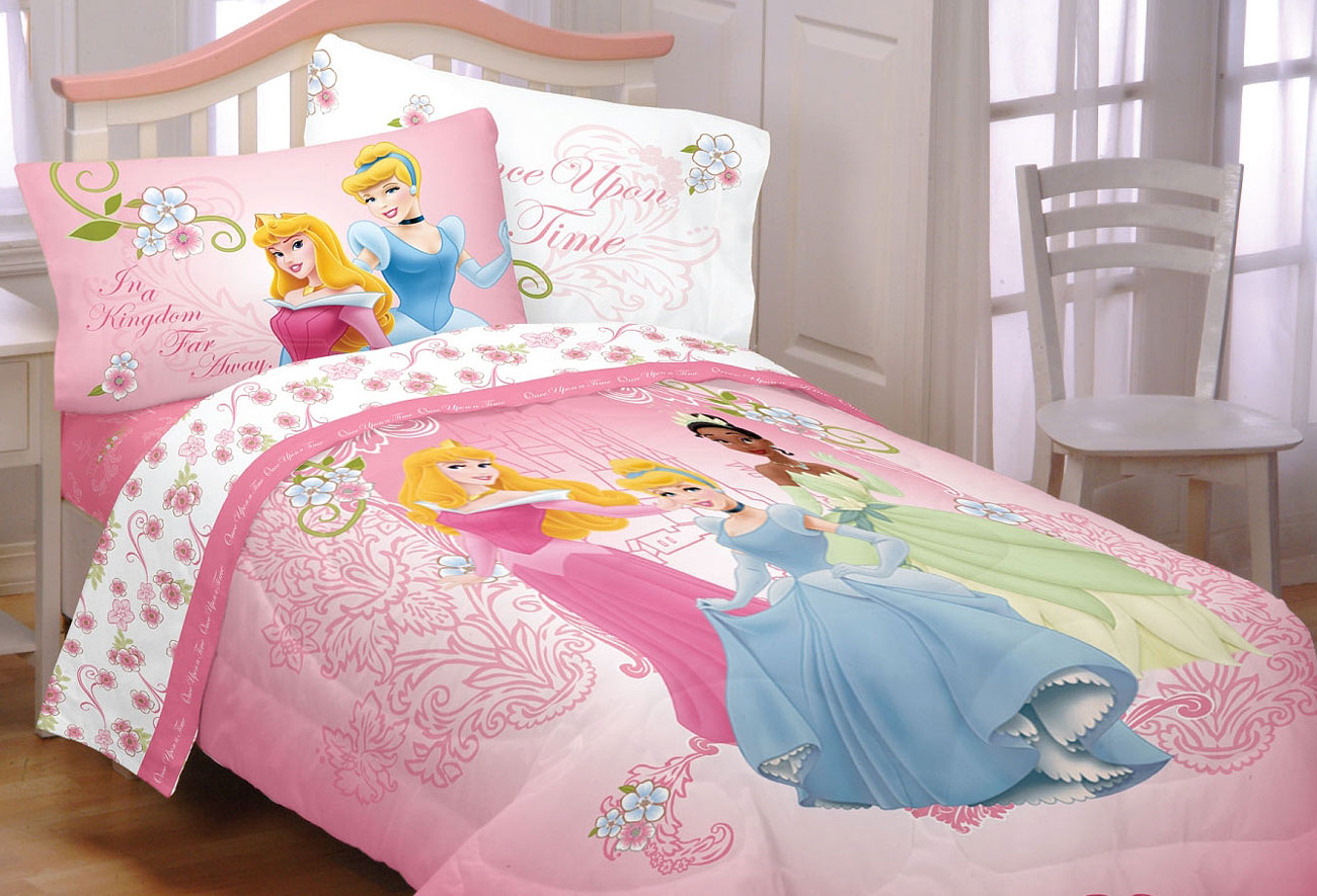 NEw DISNEY PRINCESS Cinderella TWIN BEDDING SET