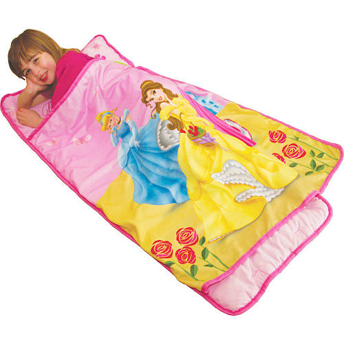 Disney Princesses Yellow Roses Toddler Nap Mat Sleeping Roll