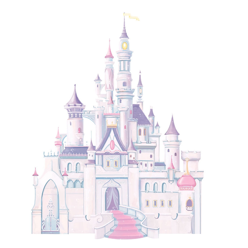 Disney Princess Castle Peel and Stick Giant Wall Decal