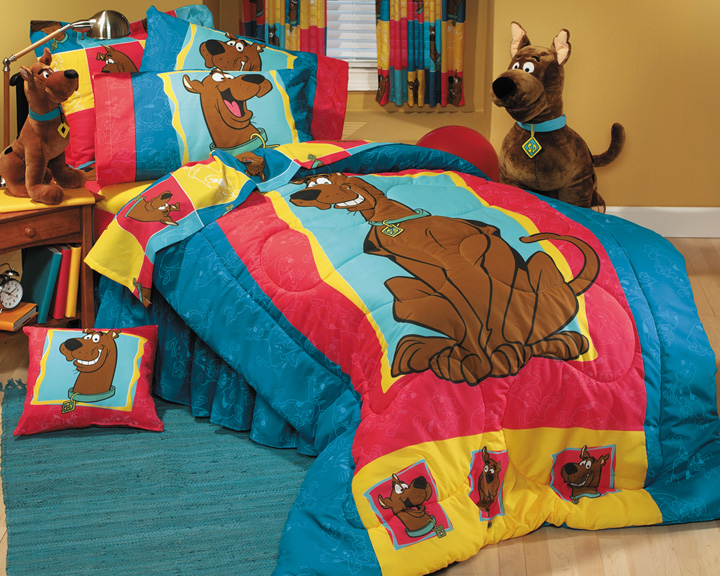 Scooby Doo Crib Bedding