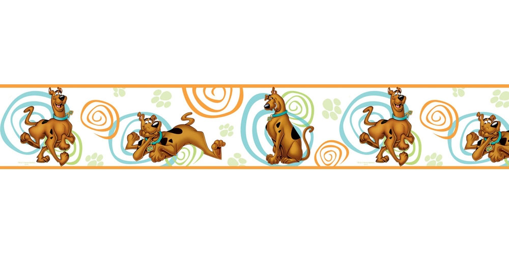 Scooby Doo Wall Border Roll Swirls Self Stick Wall Accent Decor  Scooby Doo  Bedroom Decorations. Scooby Doo Bedroom Decorations   carpetcleaningvirginia com