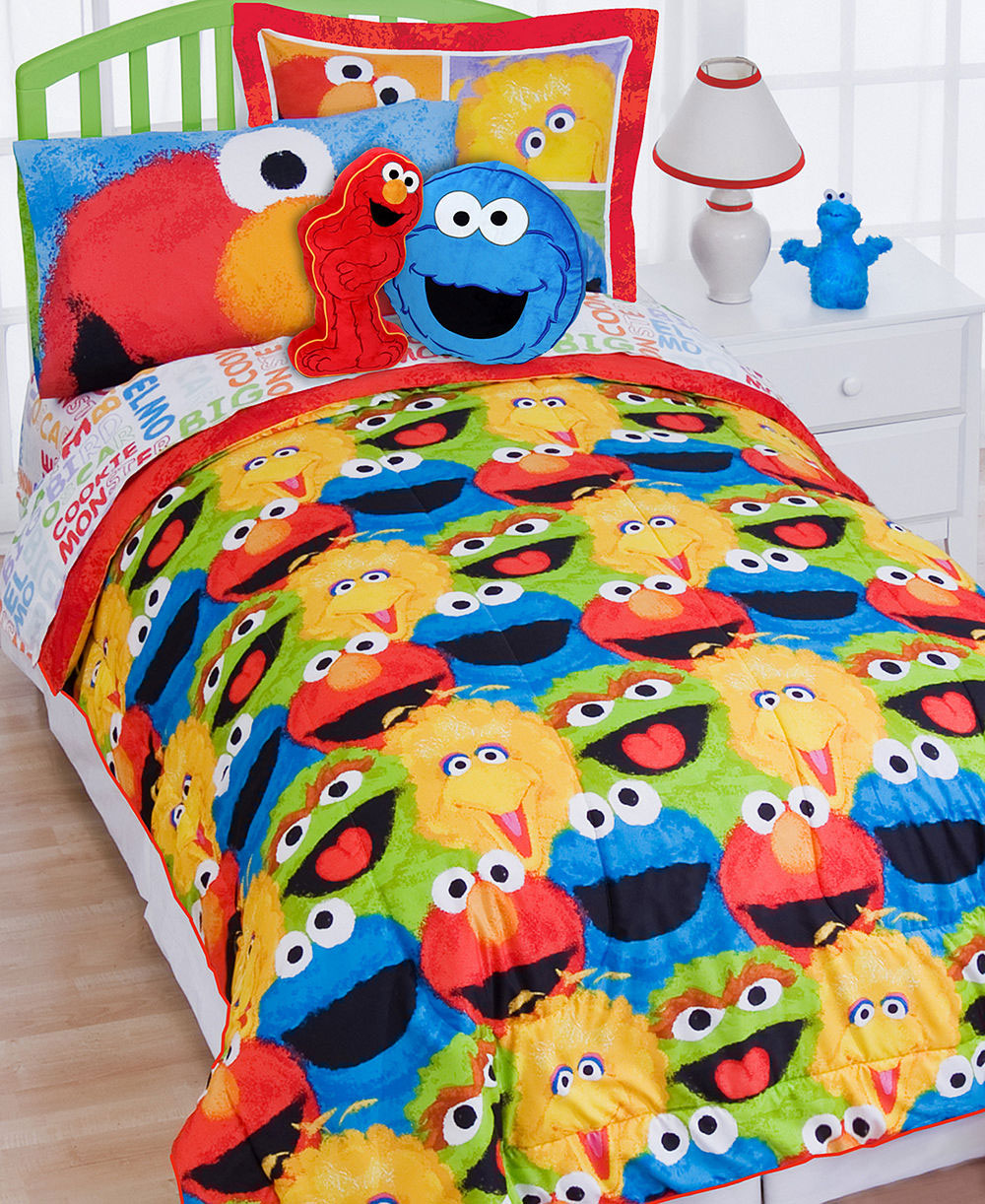 Cookie Monster Bed Set Twin