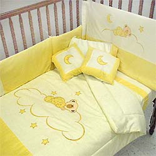 Sleepy Bears Comforter Set with Bumpers