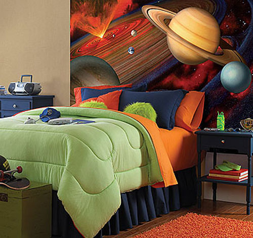 48x72 inch Space Galaxy Wall Mural