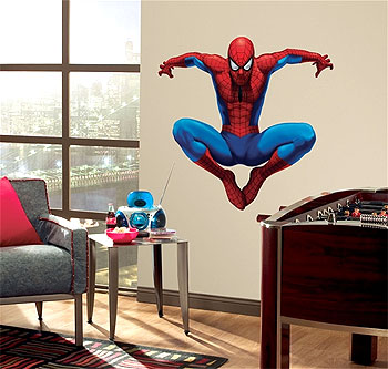 Self-Stick Spiderman Wall Mural