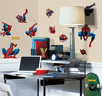 Spiderman III Peel and Stick Wall Stickers