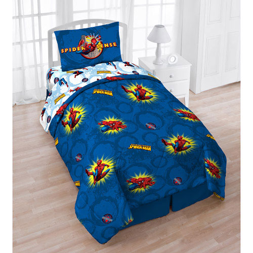 SPIDERMAN Pow TWIN BED IN BAG Marvel Comics Superhero