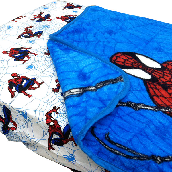 Marvel Spider-Man Webslinger 2pc Toddler Fitted Sheet Blanket Set at Sears.com