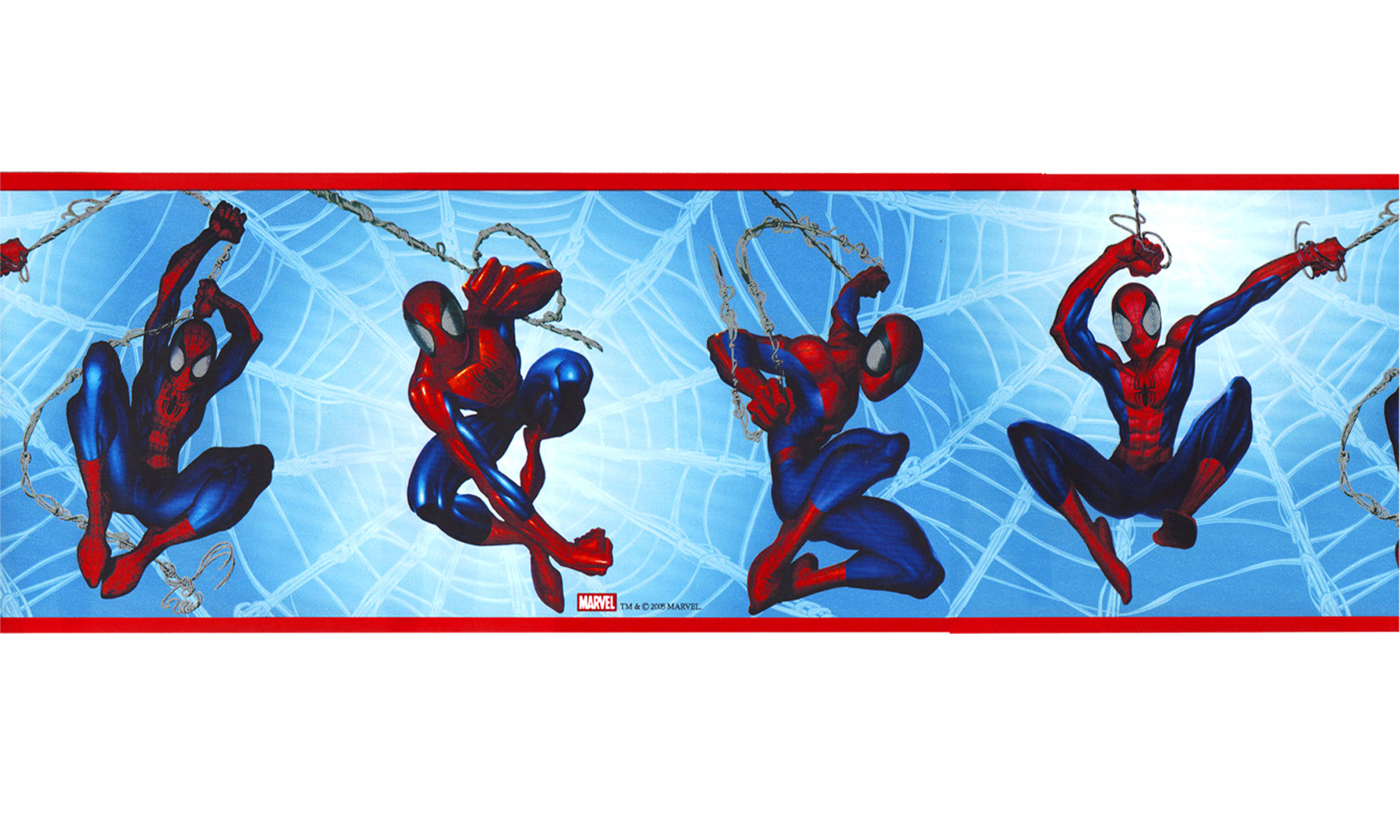 Marvel Spider-Man Prepasted Border