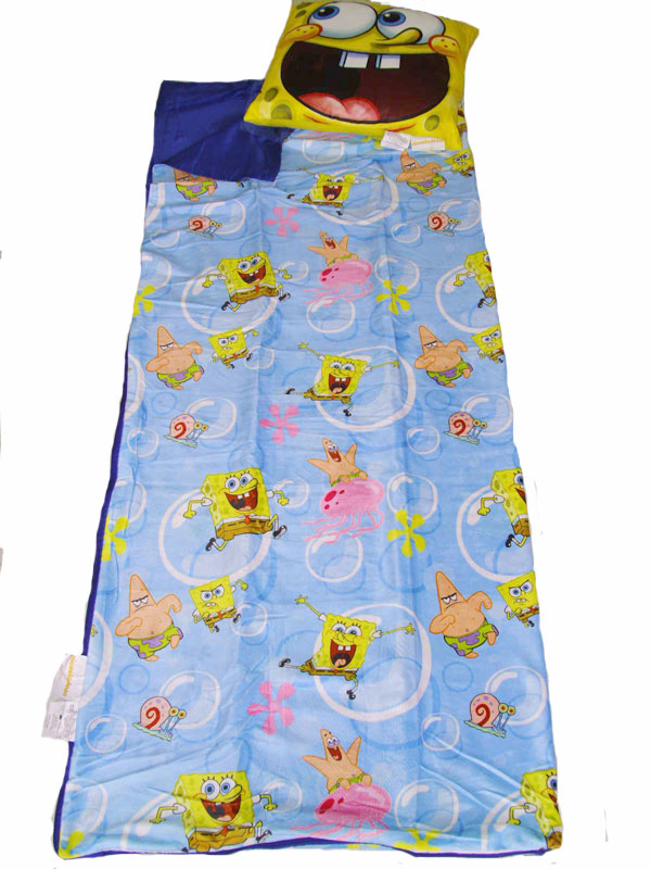 Spongebob Slumber Pillow Set