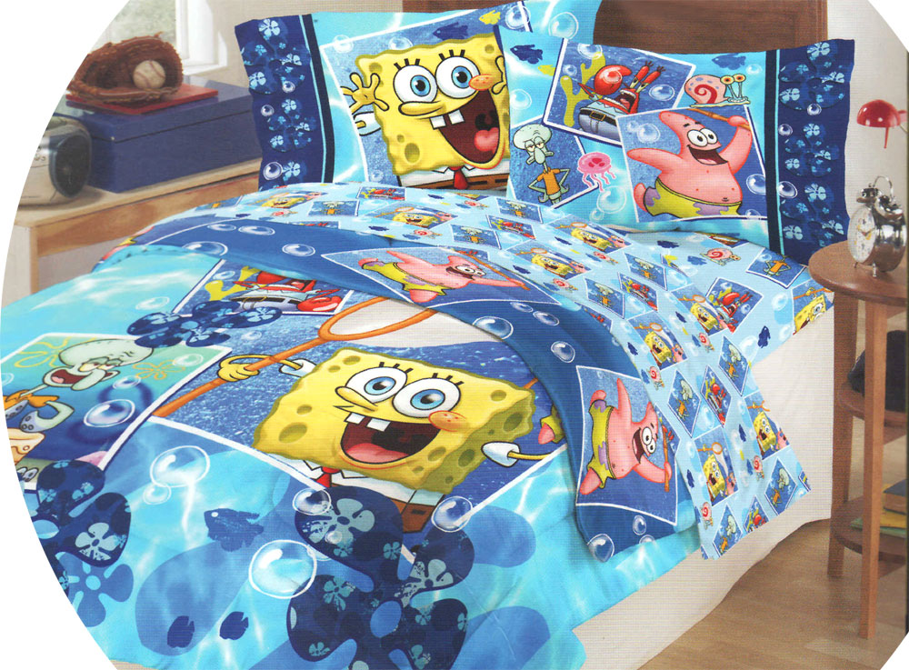 Spongebob Twin-Single Comforter