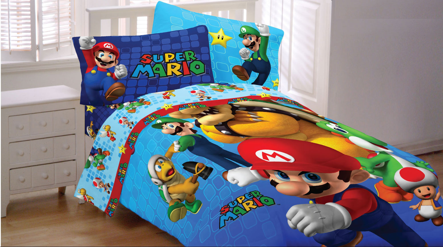 Sonic Queen Size Bed Sheets