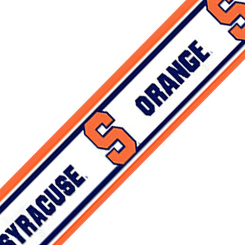 NCAA Syracuse Orangemen Prepasted Wallpaper Border Roll at Sears.com