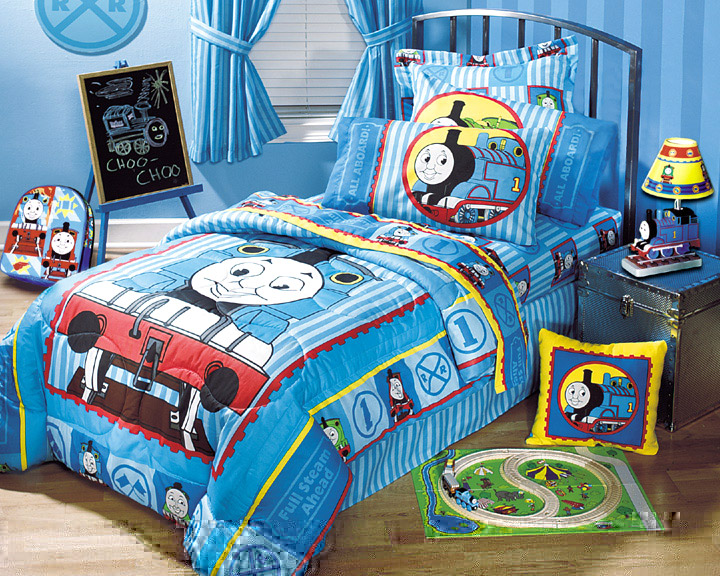 Railroad Bedding Set