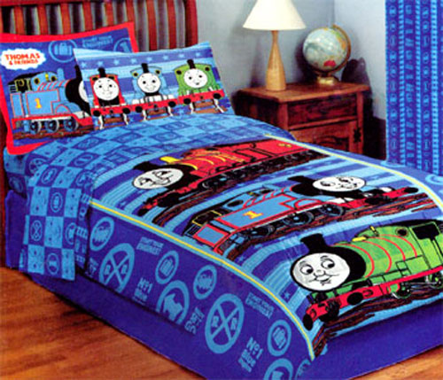 Thomas Train Bed In A Bag Thomas Bedding And Curtains Set
