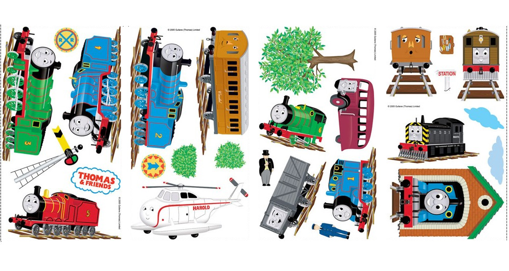 Favourite Characters 27 Piece Thomas and Friends Wall Decal RMK1035SCS