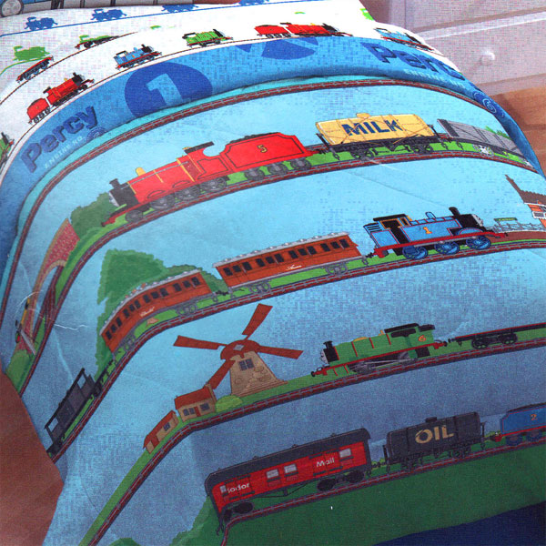 Gullane Ltd Thomas Train Ride Rails Twin-Single Bed Comforter at Sears.com
