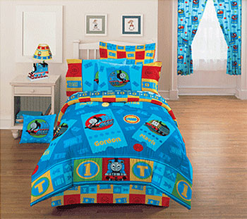 Thomas the Train - Ticket to Ride - Bedding Comforter Set - Full Bed