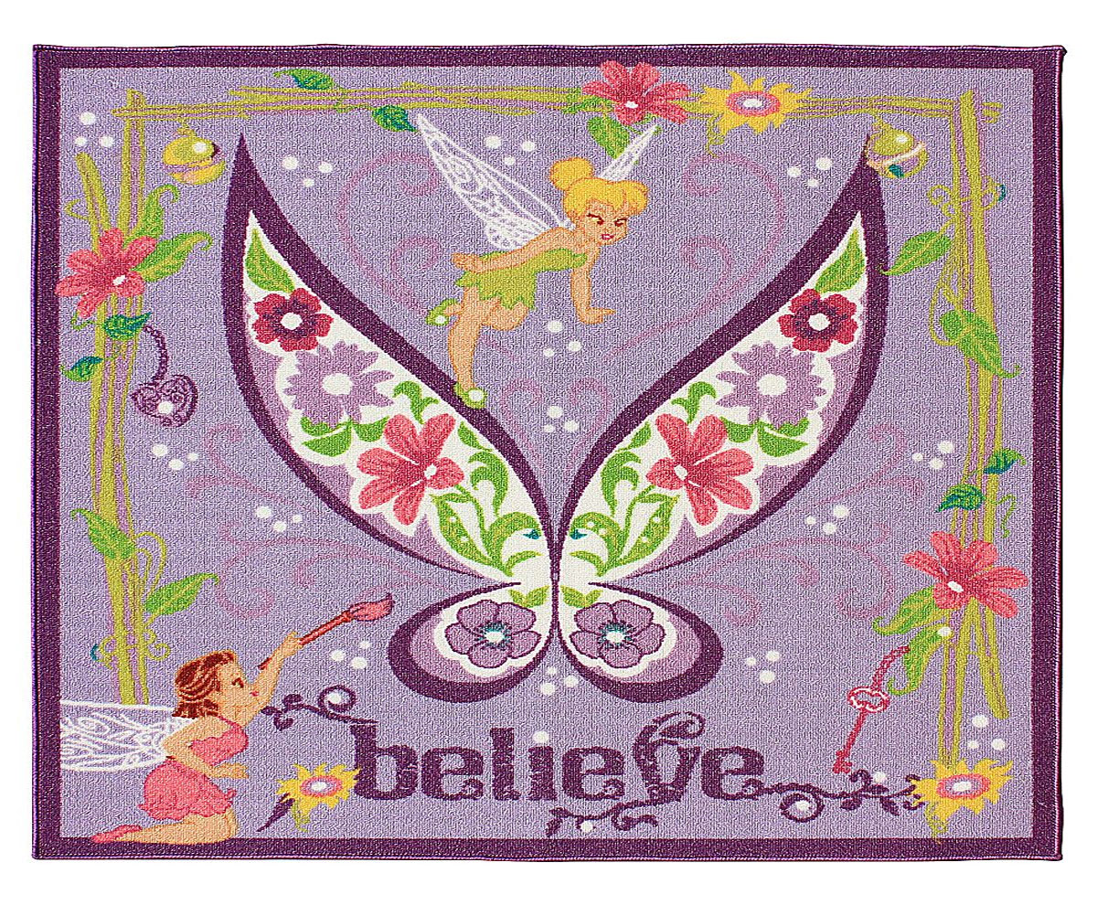 Tinkerbell Believe Activity Rug