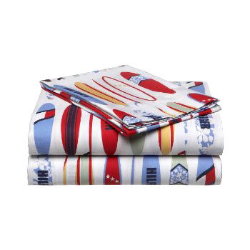 Surfing Bedding Set - 4pc Full Bed