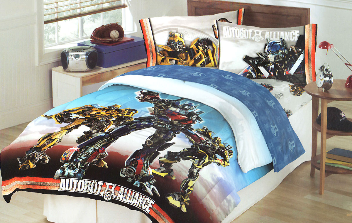 Transformers Bedding Full Size
