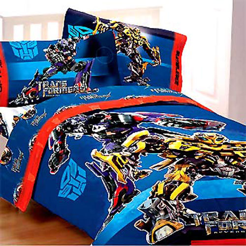 Transformers Twin Comforter Bumble Bee