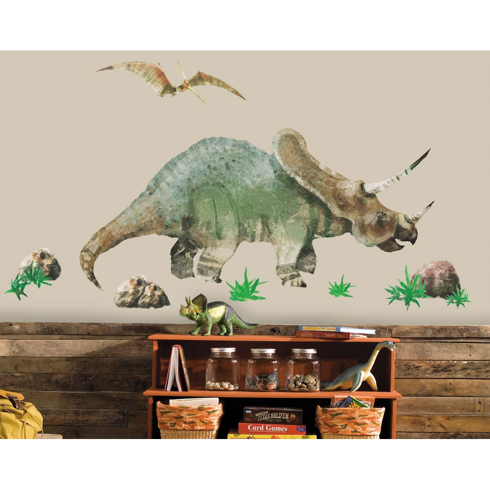 Triceratops Wall Accent Set