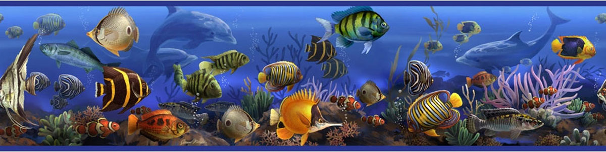 Under The Sea Wallpaper Border