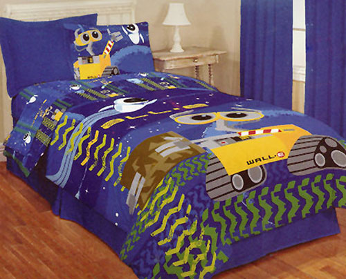 Wall-E Space Sheets Set Twin - Disney Bedding - Twin Bed
