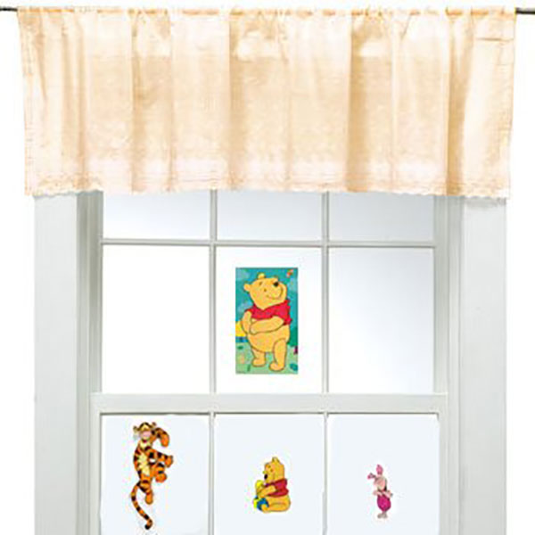 Winnie the Pooh and Friends - 4 Peel and Stick Window Decals